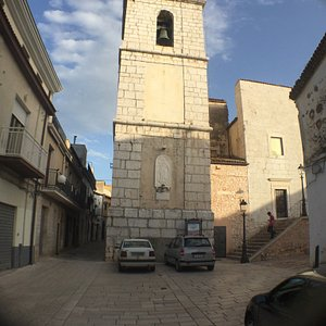 Facciata della chiesa di Santa Maria del Borgo