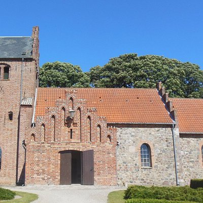 Church exterior Stenmagle, Denmark
