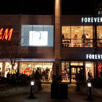 Locales de H&M y Forever 21.