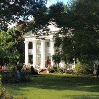 Seguine Mansion in the summer