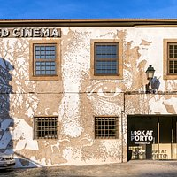 A work of Vhils in Look at Porto Wall.