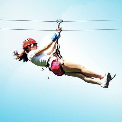 Enjoy the ziplining experience!