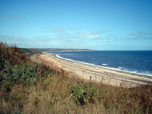 Blackhall Beach looking North
