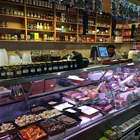 Meat and cold meat area