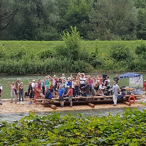 Isar river rafting