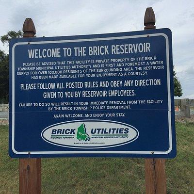 Entrance to Brick Reservoir