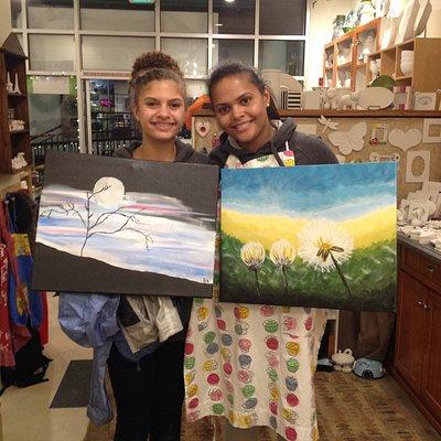 Paint on Canvas!