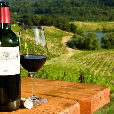 Enjoy the South Burnett scenery while relaxing with a wine