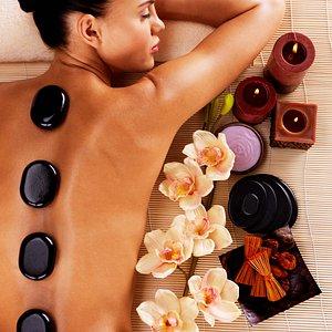 We offer wonderful Hot Stone Massages