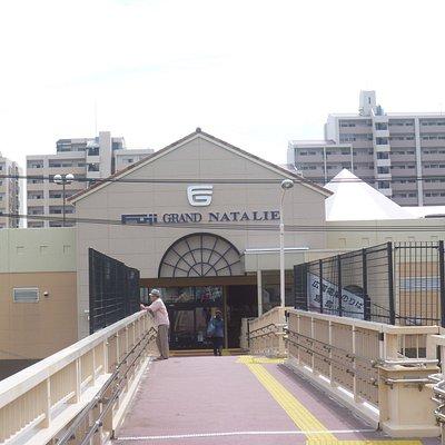 駅に繋がる入口