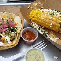 Jose Jose Taco, Mexican Corn