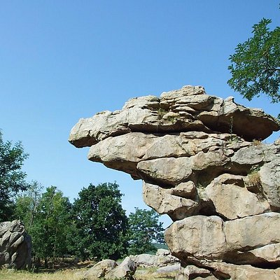 Swaying rock - stand on it and the rock sways!