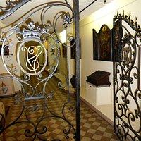 portes à l'intérieur du Musée