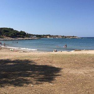 La plage des laurons :-)