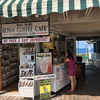 Kona coffee Cafe