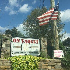 Shop and target range