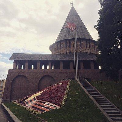 Громовая Башня Смоленской Крепостной Стены Музей Щит России