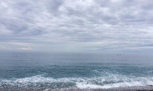 雲、海、石