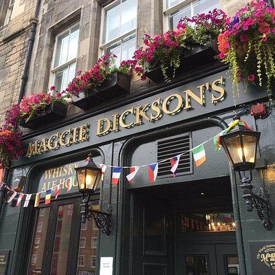 Maggie Dickson's in the Grassmarket, where Biffy and Sonny's tours both started.