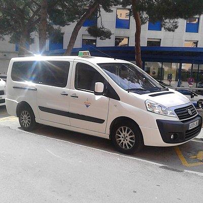 Taxi 8 Plazas Palamós