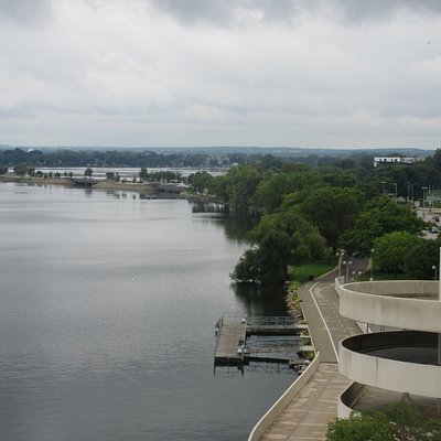 View of the Lake and the Bay