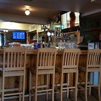 The bar at Quinn's inn