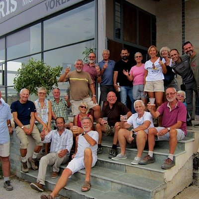 The Cyprus Rambling Club say cheers to Voreia Beers