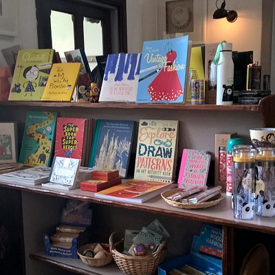 Books and creative gifts
