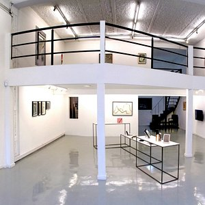 Panoramic View of the gallery during Amadeo Azar's solo show, September 2015