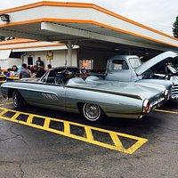 A&W car show Big Rapids, Michigan