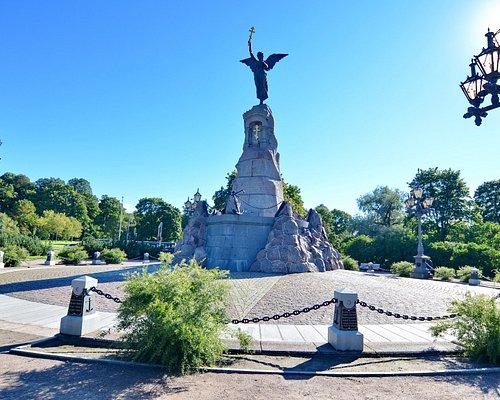 "Памятник ""Русалка"". Таллин"