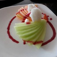 Duo Of Melon With Lemon Sorbet