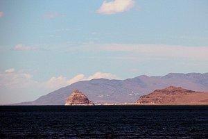 The pyramid rock