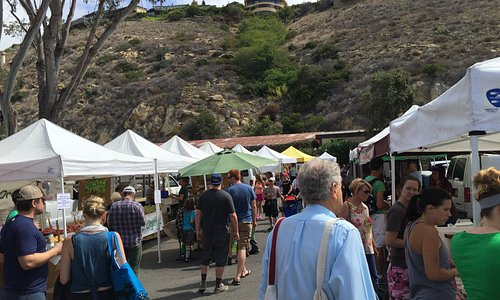 Another beautiful day at the Laguna Beach Farmer's market
