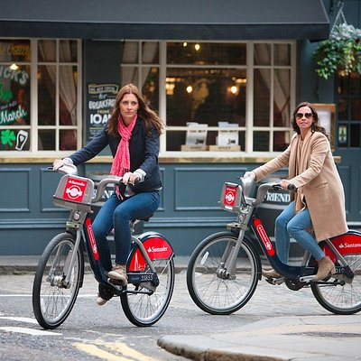 Simply one of the best ways to see the city - on Santander Cycles