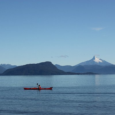 Kayaking the day after Christmas with Corcovado in the background