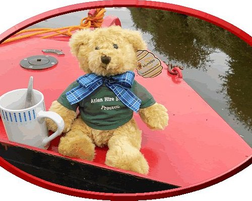 Arlen Bear enjoys the peace and tranquility of the canal