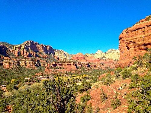 View From Boynton Canyon Trail.