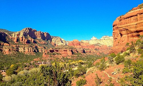 View From Boynton Canyon Trail.