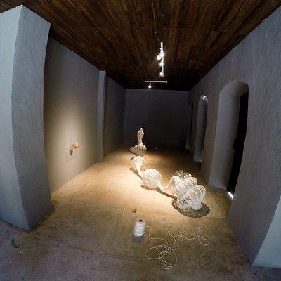 Interior da Galeria Casarão