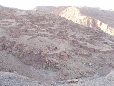 Overview of the ruins