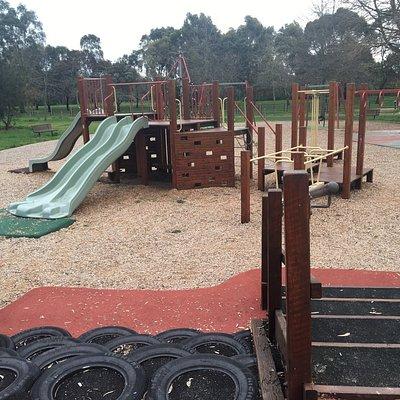 Main playground. Another playground off Somerset drive
