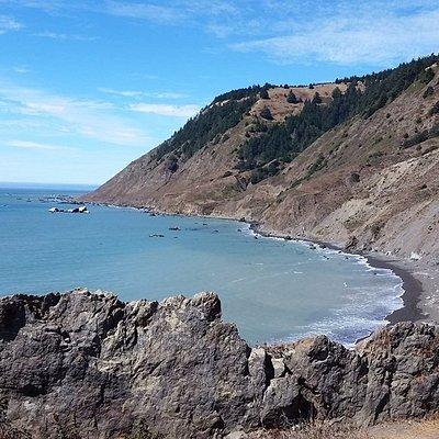 A sample of the coast