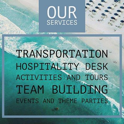 Nuestros servicios abarcan todo lo que necesitas para tu viaje familiar o empresarial