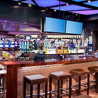 the bar at Cube