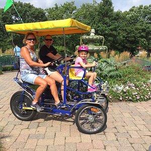 Family fun ride!