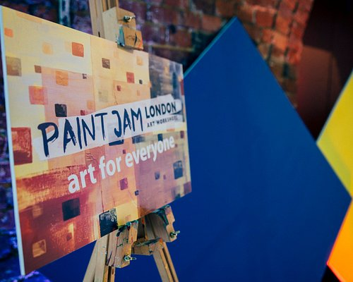 Paint Jam event - for Tableau Software at the Truman Brewery Boiler House