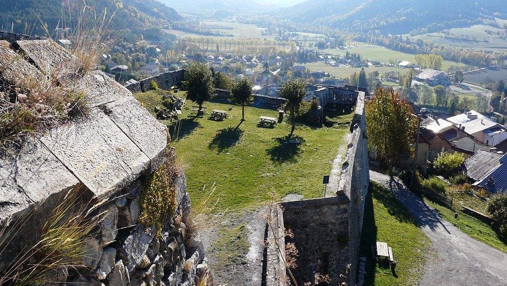 Jardin du Fort de Seyne-les-Alpes