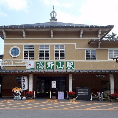 リニューアルされた駅舎