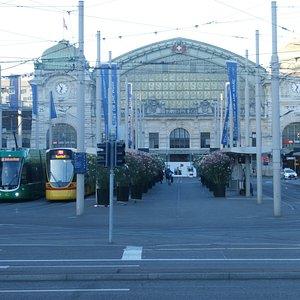 Basel Central Station